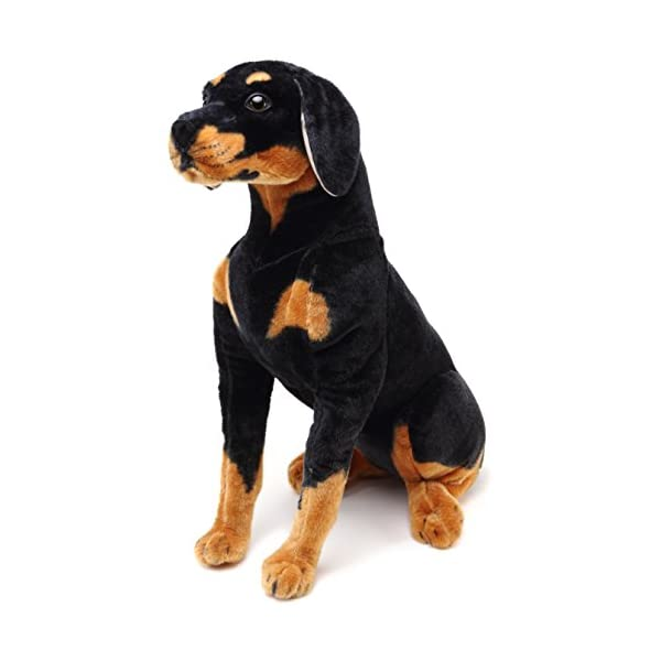VIAHART Robbie The Rottweiler | 26 Inch Tall Stuffed Animal Plush Dog | Shipping from Texas | by Tiger Tale Toys 2
