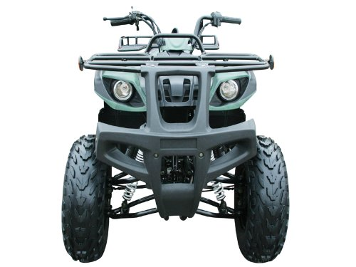 150cc Four Wheelers 23'' Tires with Reverse, Green Camo