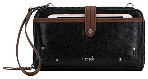 The Sak Iris Large Smartphone Crossbody, Black Onyx