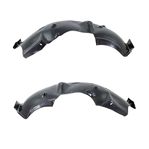 08-10 Ford Super Duty Front Splash Shield Inner Fender Liner Left Right SET PAIR