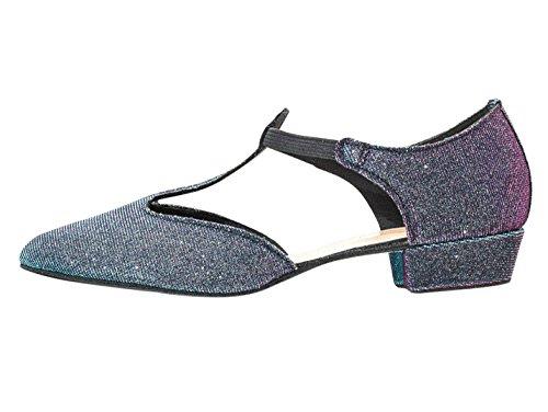 Katz Dancewear Ladies Girls All Colours Glitter Leather Dance Greek Sandal Teaching Jive Salsa Ballroom Cerco Shoe By Multi Glitter 4SH4hERTd