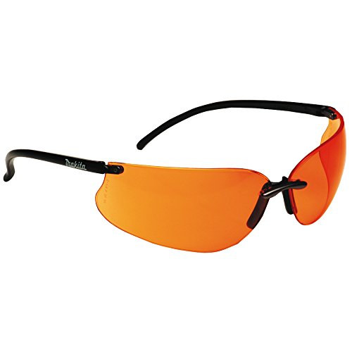 Makita P-66363 Safety Glasses/Orange Lens, Multi-Colour