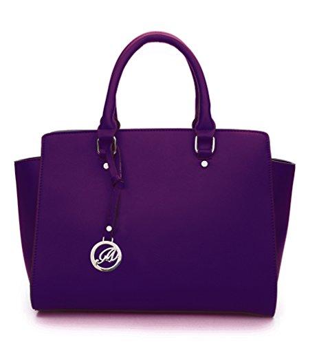 K664018L MyLux Women/Girl Fashion Designer handbag (D-Purple18)
