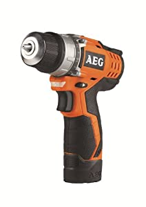 AEG Power Tools BS12C2L2 12V Drill Driver With 2 X 15Ah