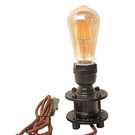 Vintage Lampara Edison Mesa DecorativaIndustrial Escritorio ...