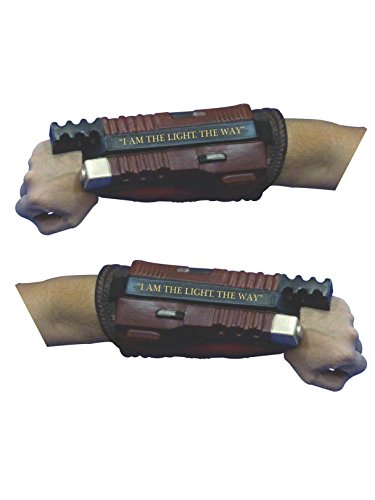 Rubie's Costume Co Suicide Squad Deadshot Deluxe Gauntlets, As Shown, One -