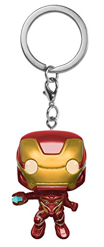 Funko Pop Keychain Marvel: Avengers Infinity War-Iron Man Collectible Figure, Multicolor