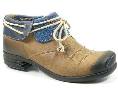 online store e8547 b31eb Rovers Schuhe Damen Halbschuhe Ankle Boots Jaram nut/jeans ...