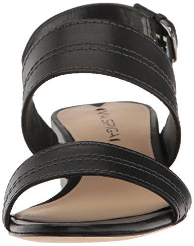 Sandalo Nera Donna Spiga Via Pelle Gioiello In O5qHx1Y