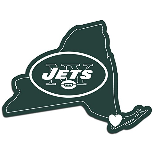 - NFL New York Jets Home State Decal, 5