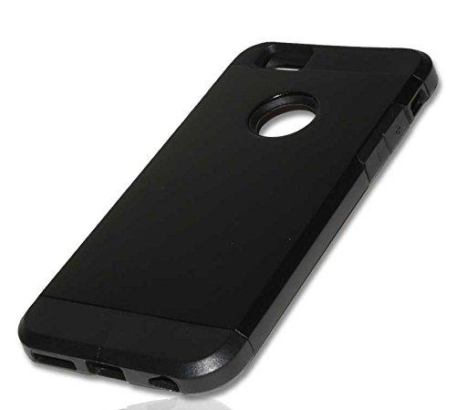 TPU DUO Case Handy Tasche für Apple iPhone 6 Schutzhülle Hülle Handytasche black