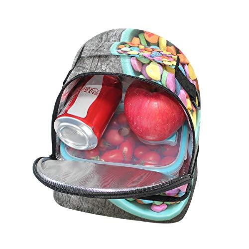 para Alinlo de con corazón Bolsa de correa hombro para ajustable almuerzo forma escuela el de la pincnic con 1OBcqw14a