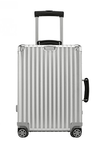 Rimowa Classic Flight IATA Carry on Luggage 21  Inch Cabin Multiwheel 33L  TSA Suitcase Silver fce4ee2a16a75