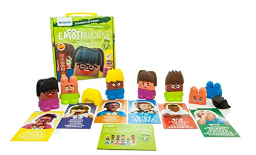 Miniland Emotiblocks Basic Emotions Toy