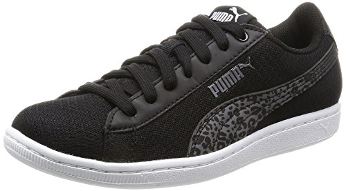 Black Trainers Vikky Leopard in Puma 0qR4v
