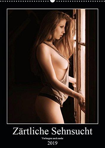 Zärtliche Sehnsucht (Wandkalender 2019 DIN A3 hoch): 12 zärtliche Fotogemälde, verführen Sie jeden Monat. (Monatskalender, 14 Seiten ) (CALVENDO Menschen) Sensual-Photography 367009699X Erotik Frau