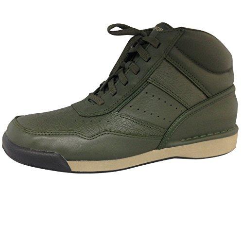 Rockport 7100 High Mens Walking Shoe Forest Night Green
