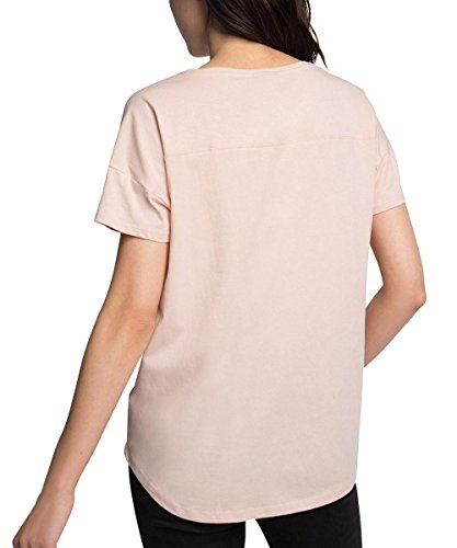 Esprit 076ee1k014, Camiseta para Mujer Rosa (NUDE 685)