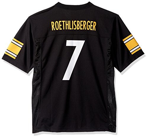 Outerstuff Ben Roethlisberger Pittsburgh Steelers Youth Black Jersey (Large  14-16) efc1248d1