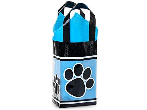 ローズPaw印刷プラスチックバッグ200パック5 x 3 x 8