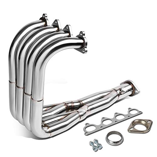 Stainless Steel Tri-Y Exhaust Header Manifold for 92-01 Honda Civic/Del Sol/Acura Integra w/H22 Engine Swaps