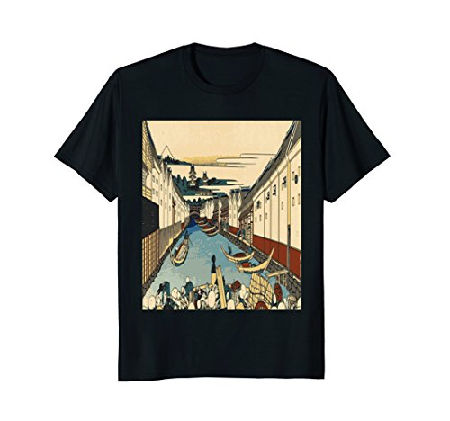 Nihonbashi Bridge T-Shirt Japan Japanese Tokyo Graphic (Nihonbashi Bridge)