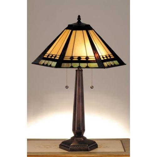 Meyda Tiffany 82313 Albuquerque Table Lamp, 25