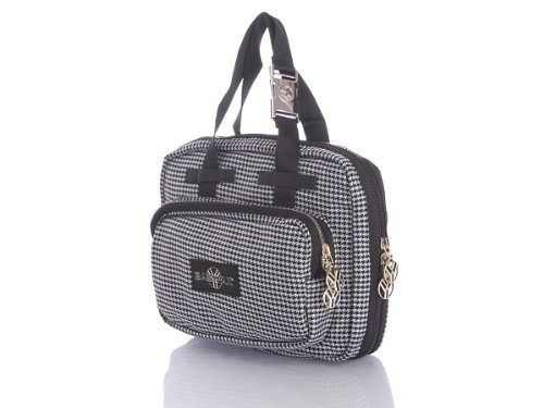 Eastpak Gaspard Yurkievich Collection Hounds Tooth HandBag (EK821722)