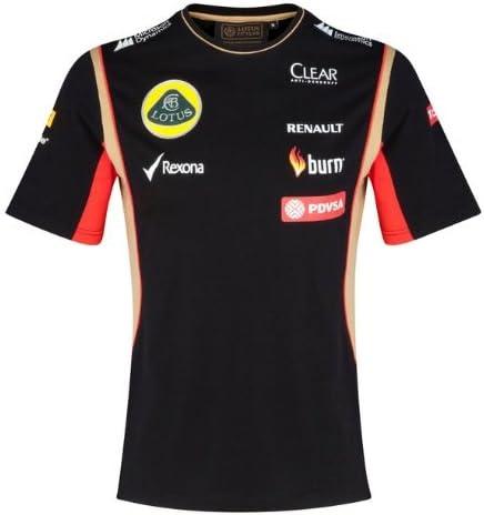 T camisa camiseta para hombre de fórmula uno 1 Lotus F1 Team pedevesa patrocinador 2014/5 XS: Amazon.es: Deportes y aire libre