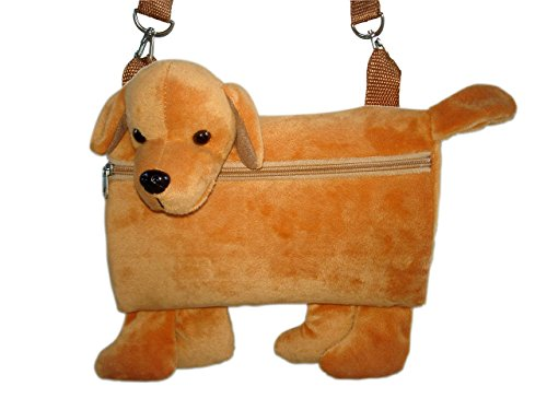 Kidz Entertainment, Inc 3-in-1 Cuddly Fun Muff/Handbag/Plush Golden Labrador