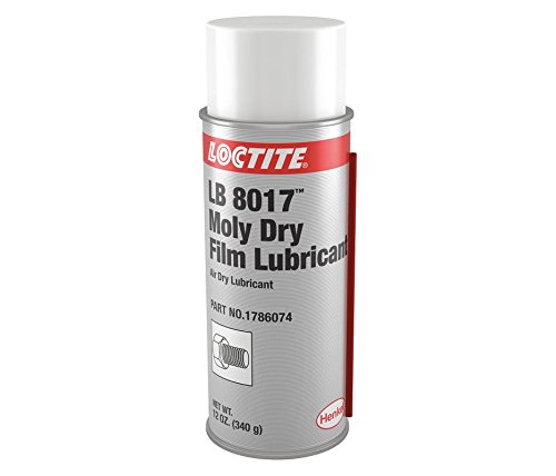 Loctite 1786074 LB 8017 Moly Dry Film Lubricant, 12 oz. Aerosol -