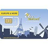 OneSimCard Europe & More International SIM Card