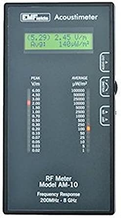 Acoustimeter AM-10 - Medidor de microondas (11 páginas): Amazon.es ...