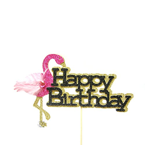 Pettstore-Flamingo-New-Cake-Topper-Insert-Card-For-Wedding-Birthday-Special-Events-Decorations-Happy-birthday