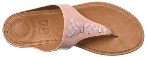 Crystal Fitflop Sandals Dusky Banda Pink Ii Toe Thong qqwxpZTE