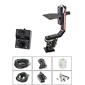 Image of PROAIM Professional Motorized Sr. Pan Tilt Head with 12V Joystick Control for DSLR Video Cameras Camcorders up to 7.5kg/16.5lbs for Jib Crane Tripod + Carrying Bag (PT-SR) Camera Cranes