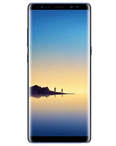 "Samsung Note 8 (128GB/6GB) SM-N9500 6.3"" Dual SIM GSM Unlocked International Model, No Warranty, NO CDMA (Deepsea Blue)"