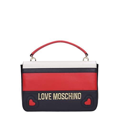 Jc4337pp06kz150a Pelle Negro Fw Rosso Love Nero Borsa Avorio Cartella 18 Moschino Z7vtwWT