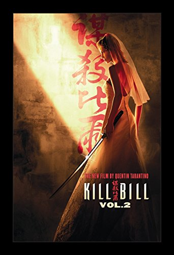 Kill Bill Volume 2 - 11x17 Framed Movie Poster by Wallspace