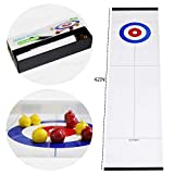 Tabletop Curling Game, Family Fun Board Games