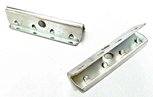 (24 Pack) Metal End Clip Hardware for Rubber Webbing Chair Repair
