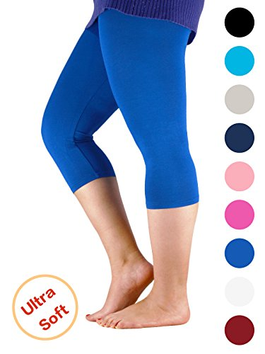 Top Passionate Adventure Cozy and Comfy Leggings for Women Ultra Soft and Stretchy Capri Pants, Regular and Plus Size for sale