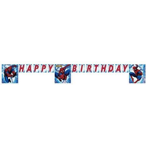 Marvel The Amazing Spiderman Letter Banner 8ft
