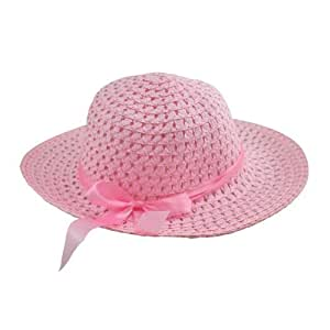 Girl's Pink Sun Hat