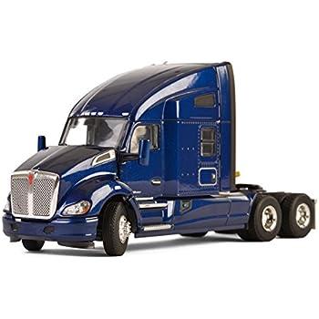 Amazon com: Peterbilt 579 6X4 3 Axle Tractor Sleeper Cab Black 1/50