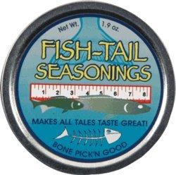 Dean Jacobs Fish Tail Seasoning Rub, 1.9 Ounce Tin