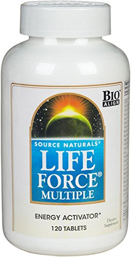 Life Force Multiple Source Naturals, Inc. 120 Tabs ()