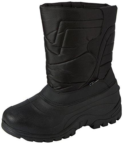 Gevavi CW39 GEVOERD.HERENLRS - botas de nieve de material sintético hombre negro - Schwarz (Schwarz(Zwart) 00)