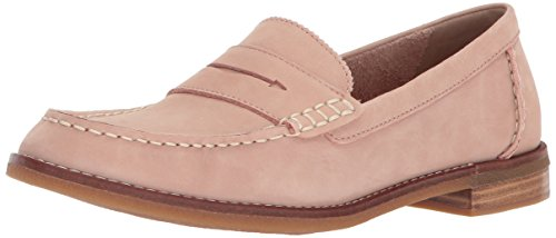 SPERRY Women's Seaport Penny Loafer, Rose Dust, 8.5 Wide