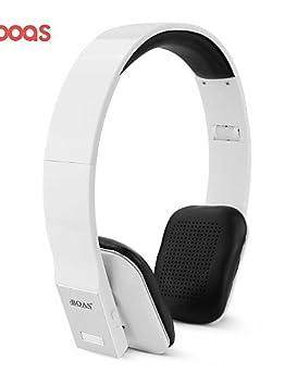 Jack BOAS Marca de reducción de ruido inalámbrica Bluetooth Stereo Headset auricular de los auriculares con micrófono para iPhone para Tablet PC: Amazon.es: ...